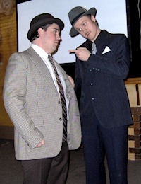 """Abbott and Costello"" hosting for G.D. Productions (2003)"
