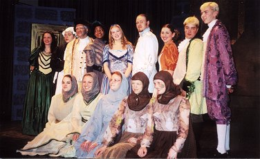 The cast of Beauty and The Beast (FTC 2001)